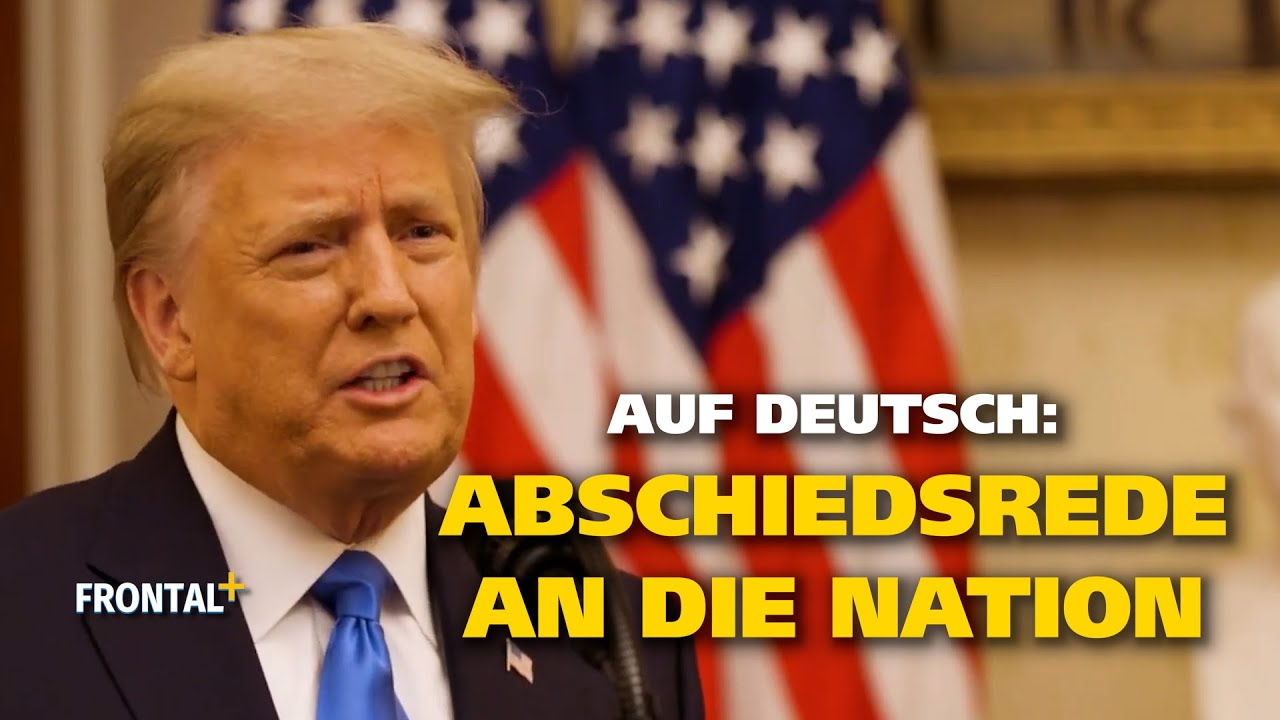 F29a Abschiedsrede Trump WH