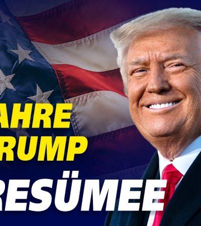 Resümee: Trump hat seine Versprechen gegenüber dem Volk gehalten